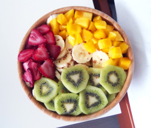 tumblr user michellelisabeth's sweet bowl of fruit