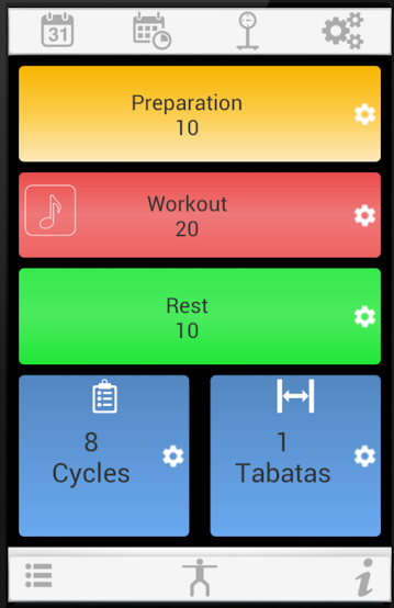 There's an app for that: Tabata Timer for HIIT